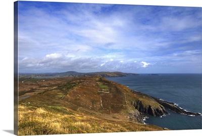 North Easterly View from Slievemore, Sherkin Island, County Cork, Ireland
