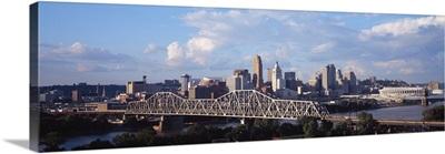 Ohio, Cincinnati, twilight