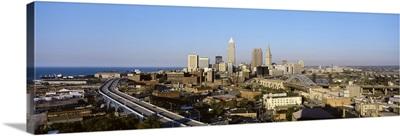 Ohio, Cleveland, aerial