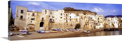 Old Town Cefalu Sicily Italy