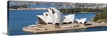 Opera house at the waterfront, Sydney Opera House, Sydney Harbor, Sydney, New South Wales, Australia