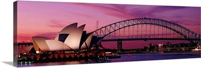 Opera House Bridge Sydney Australia