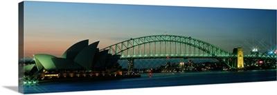 Opera House & Harbor Bridge Sydney Australia