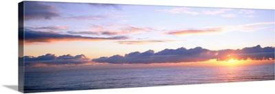 Oregon, Pacific Ocean, sunset