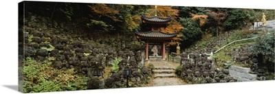 Otagi Nenbutsu-ji Temple Kyoto Japan