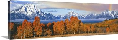 Oxbow Bend, Teton Range, Grand Teton National Park, Wyoming