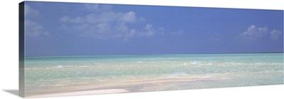 Panoramic view of an ocean, Indian Ocean, Maldives