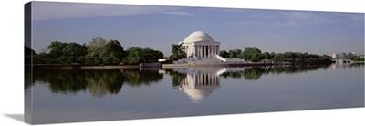 Panoramic view of the Jefferson Memorial, Washington DC