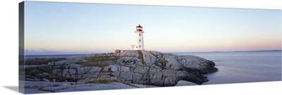 Peggys Point Lighthouse, Peggys Cove, Nova Scotia, Canada
