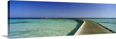 Pier in the sea, Soma Bay, Hurghada, Egypt