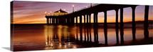 Pier, Manhattan Beach Pier, Manhattan Beach, Los Angeles County, California