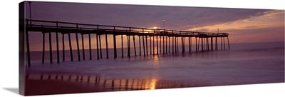 Pier over an ocean, Ocean City, Maryland