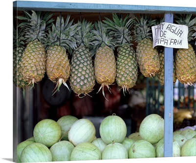Pineapples and Melons Costa Rica