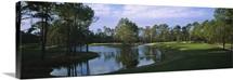 Pond on a golf course, Kilmarlic Golf Club, Outer Banks, North Carolina