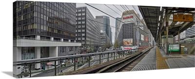 Railway station, Yurakucho Station, Chiyoda, Tokyo, Japan