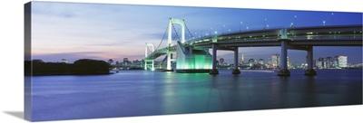 Rainbow Bridge Minato Bridge Tokyo Japan