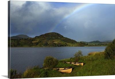 Rainbow Over Doon Lough, County Leitrim, Ireland