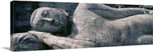 Reclining Stone Buddha Polonnaruwa Sri Lanka