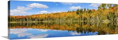 Reflection of trees in Pete's Lake, Schoolcraft County, Michigan
