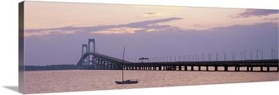 Rhode Island, Narragansett Bay, Newport Bridge