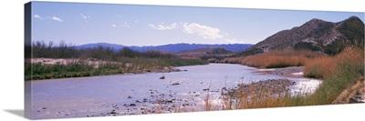 Rio Grande at Sulpher Springs Monahans Sandhills St Pk TX