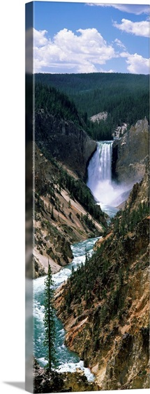 River, Artist Point, Yellowstone River, Yellowstone National Park, Wyoming