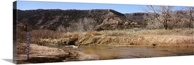 River passing through a landscape, Palo Duro Canyon State Park, Texas