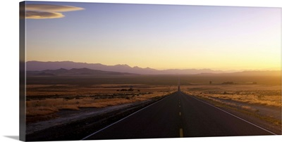 Road passing through a landscape, Nevada State Route 140, Humboldt County, Nevada