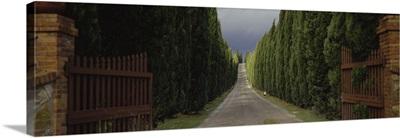 Road Tuscany Italy