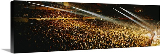 Rock Concert Interior Chicago IL