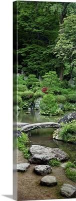 Rocks in a garden, Iwanami Garden, Yamagata, Japan