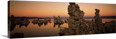 Rocks in a lake, Mono Lake, California