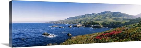 Rocks in the sea, Carmel, California