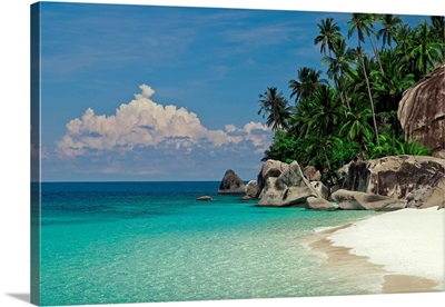 Rocks on the beach, Pulau Dayang Beach, Malaysia