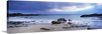 Rocks on the beach Stoke Beach Newton Ferrers South Devon Devon England