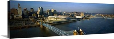 Roebling Suspension Bridge Cincinnati OH