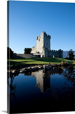 Ross Castle on the Shores of Lough Leane, Killarney National Park, County Kerry, Ireland