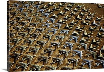 Rows of B-52s Tucson AZ