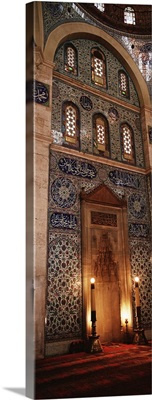 Rustem Pasa Mosque Istanbul Turkey