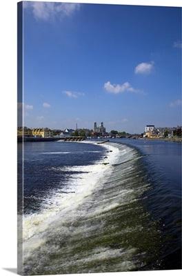 Salmon Leap Weir, Athlone, County Roscommon, Ireland