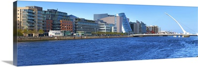 Samuel Beckett Bridge, River Liffey, Dublin City, Ireland