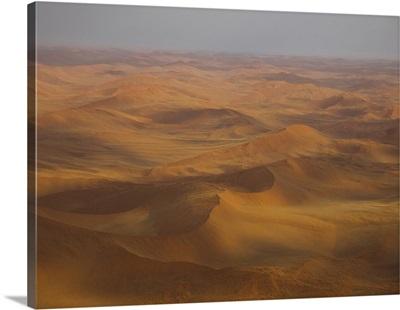 Sand dunes in a desert, Sossusvlei, Namib-Naukluft National Park, Namibia