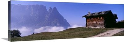Schlern Dolomites Italy