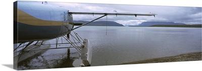 Seaplane on the beach, Katmai National Park, Alaska