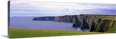 Seascape with coastal cliffs, Ireland