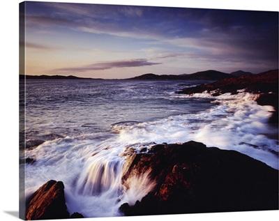 Shoreline Outer Hebrides Scotland