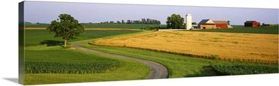 Silo in a field, Mountville, Pennsylvania