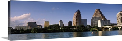 Skyline Austin TX USA