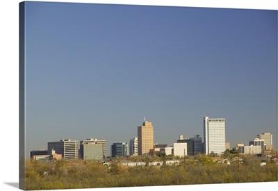 Skyline of a city, Midland, Texas