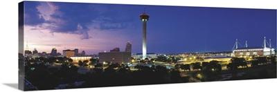 Skyscraper in a city, San Antonio, Texas